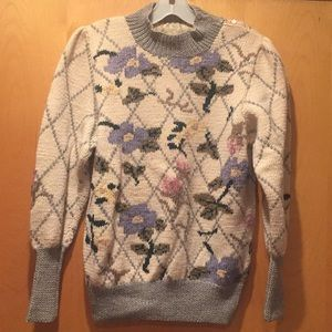 Gorgeous vintage wool sweater